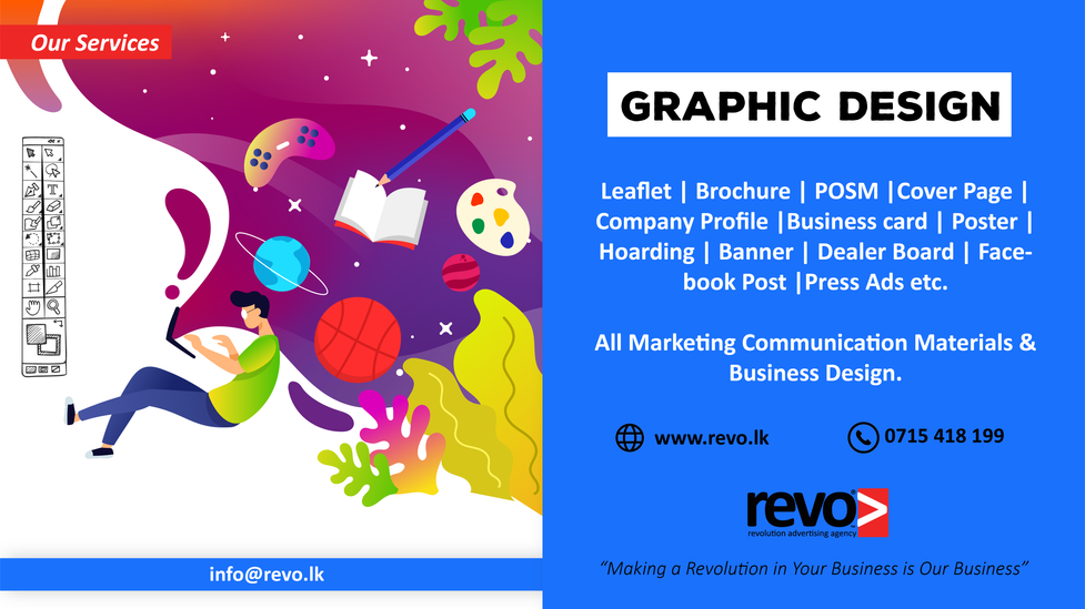 Any type of graphic Design