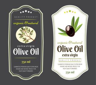 Labels for Oliver Oil
