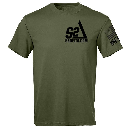 T-Shirt, S2Delta,  Made in USA