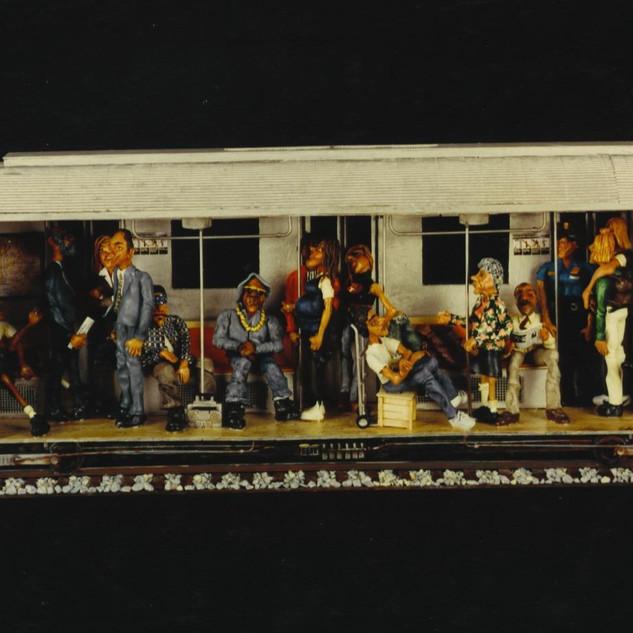 Open Subway Car