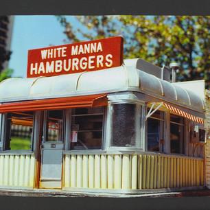 White Manna Hamburgers