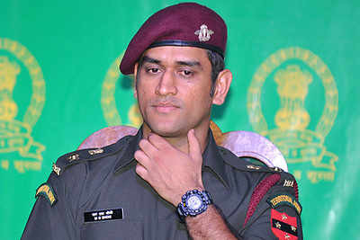 MS Dhoni Is Joining Territorial Army For Next 2 Months Says to BCCI
