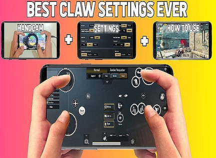4 Finger claw setup for PUBG Mobile Android and IOS Sensitivity Settings