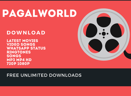 Pagalworld 2019 : Download latest movies, Video songs, whats App Status, Ringtones.
