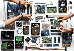Computer Components in Hindi