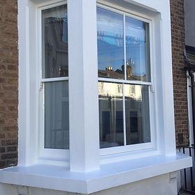 Sash window overhaul/sash window repair & paint.