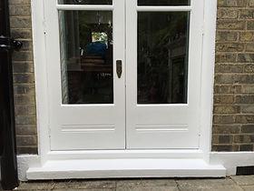 Door restoration/ door repair & paint.