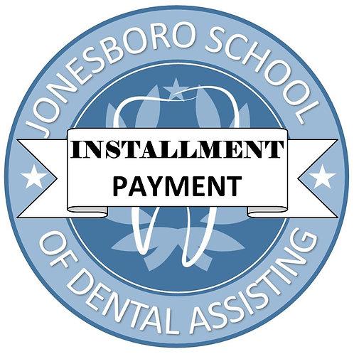 INSTALLMENT PAYMENT OPTION