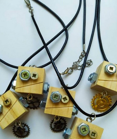 Upcycled Jewelry and Accessories