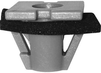 SWORDFISH 67040 - Emblem & Rocker Moulding Clip for Hyundai 87715-B4000, 15pcs