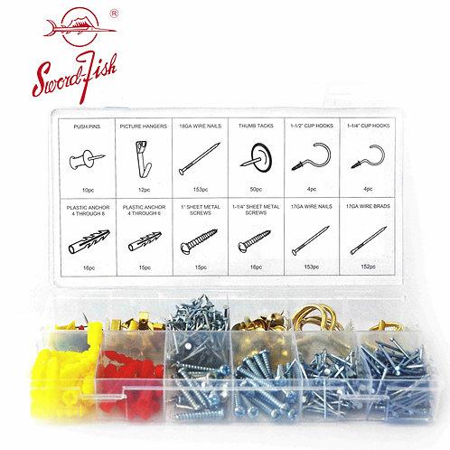 Swordfish 31380 - 600pc Home Hardware Assortment