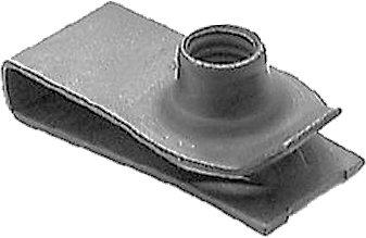 Swordfish 64941-25pc Extruded U Nut M6-1.0 Screw Size for GM: 11503715, 11508241