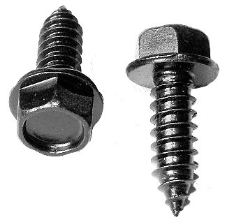 SWORDFISH 64961-50pcs Indented Hex Washer Head Tapping Screw for Ford 55914-S2