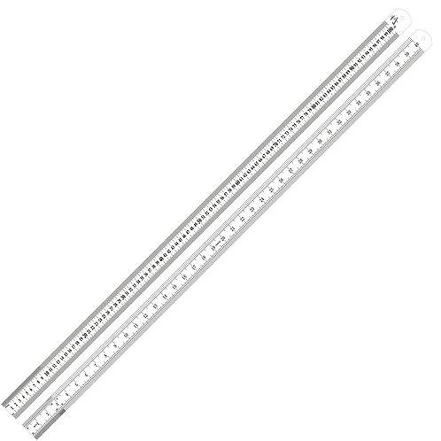 "Swordfish 80020-Original 40"" (1 meter) Stainless Steel Measuring Scale Ruler"