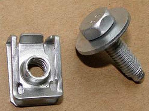 SWORDFISH 65709-M8 U Nut w/Screw for Mercedes 004-994-18-45 & 000000001410