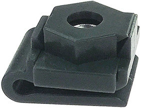 SWORDFISH 60646 - Splash Guard Nylon U Nut with Metal Insert Nut for Subaru