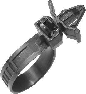 Swordfish 60614 - 15pc Releasable Cable Strap for Mazda 9928-90-753