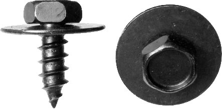 SWORDFISH 64955-25pcs Radiator Support Splash Shield Screw for Toyota