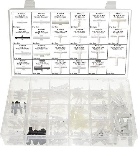 Swordfish 60850-115pc Vacuum Tee Connector Assortment