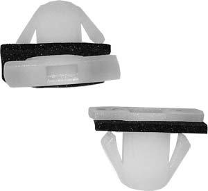 SWORDFISH 67045 - Waist Line Moulding Trim Clip for Hyundai 87715-3S000, 25pcs