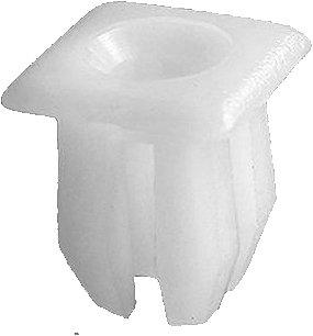 SWORDFISH 62104 50pc Headlight Door, Grille & Mirror Nylon Nut for Ford 379830-S