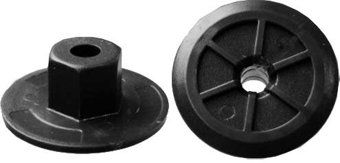 SWORDFISH 67611 - Heater & Air Conditioning Duct Nylon Nut for BMW 51711958025