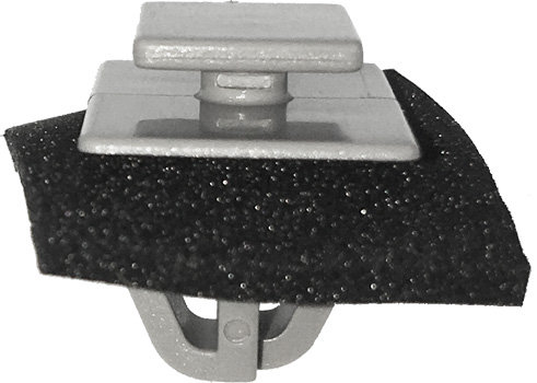 SWORDFISH 67038 - Liftgate Moulding Clip with Sealer for Kia 87382-2W000, 25pcs