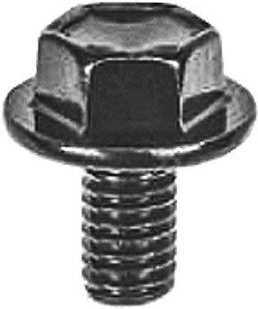 Swordfish 64936-10pc Hex Head Flange Bolt for TOYOTA 90105-06137