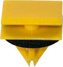 SWORDFISH 67204 10pc Rocker Panel Moulding Clip with Sealer for GM 5480852