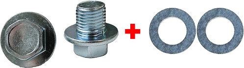 Swordfish 65724-Engine Oil Drain Plug with Gasket for Toyota