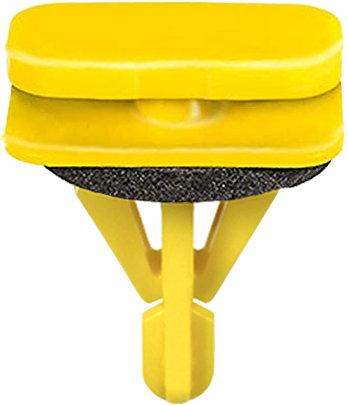 SWORDFISH 67333-10pcs Rocker Moulding Clip with Sealer for GM 15864780, 11569921