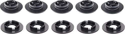 SWORDFISH 61355 - Floor Mat Carpet Retainer Clip Upper and Lower for VW