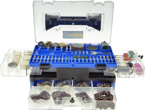 349pc Rotary Tool Accessories Kit, cutting sanding polishing drilling set