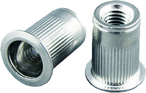 Nutserts Rivet Nuts, package of 50 pieces
