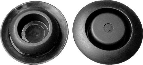 SWORDFISH 61039-25pc Black Rubber Door Hole Plug for Nissan 01658-02121