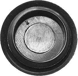 SWORDFISH 62515 Black Polyethylene Flush Sheet Metal Plugs for Nissan
