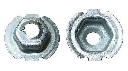 SWORDFISH 64981-25pcs Rear Bumper Bracket Retainer Clip for VW WHT005560
