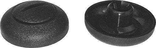 SWORDFISH 67026-15pcs Rear Fender Liner Plug w/Slotted Head Design for Hyundai