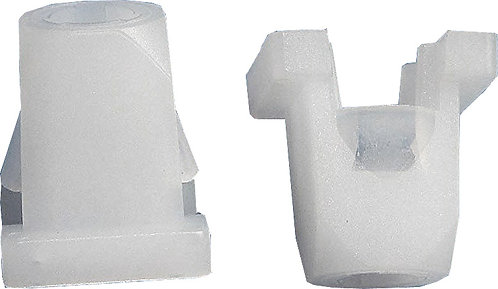 SWORDFISH 67328-50pcs Headlight Adjusting Nylon Nut for GM 5953005