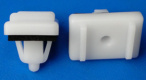 SWORDFISH 67018-25pc Rocker Moulding Clip with Sealer for Hyundai 87758-2S000