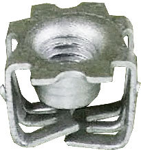 SF 64917-10pcs Front Compartment Air Deflector Push-in Nut for GM 11570215
