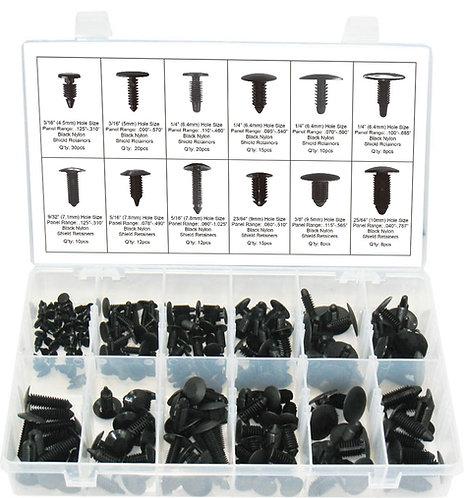 Swordfish 60030 - 168pc Shield Retainer Assortment