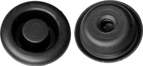 SWORDFISH 61035-30pcs Black Rubber Hole Plug for Nissan 01658-01361, 24253-M9400