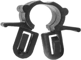 SWORDFISH 67047 - Hood Release Cable Clip for Hyundai 81199-38000, 25 Pieces