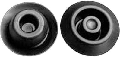 SWORDFISH 61046-25pcs Black Rubber Hole Plug for Nissan 74849-JD00A