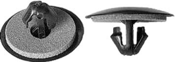 SWORDFISH 60739-25pc Front Fender Retaining Clip for Toyota 90467-06205-C0