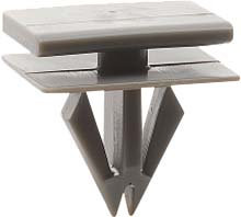 SWORDFISH 67206 15pc Windshield Pillar Moulding Clip for GM 15288146, 15893516