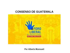 CONSENSO DE GUATEMALA