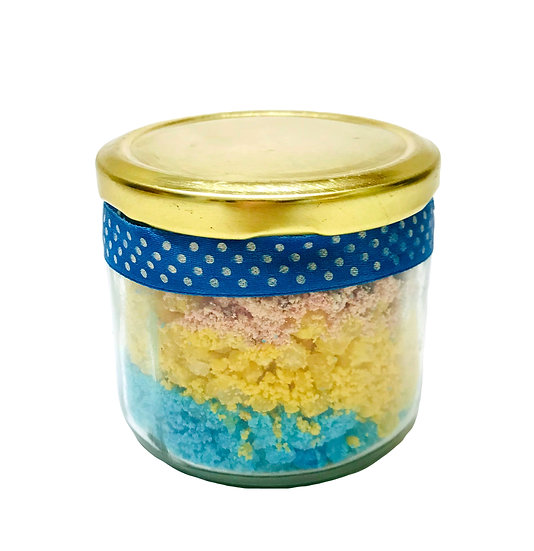 Energizing and Waking Peppermint Lemon Orange Bath Salt and Foot Soak