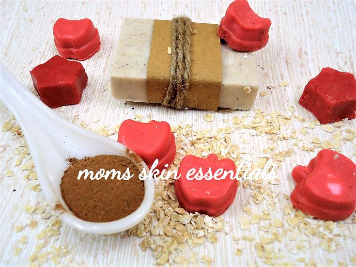 Apple Cinnamon Oat Meal Soap
